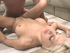Busty wild mature delighfuly fucked and gets facial jizz
