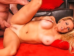 Big Boobs Mature Mom Kara Nox gets her tight pussy screwed hard